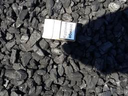 Уголь антрацит АМ длинопламенный газовый ДГ
