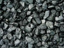 Уголь марки ДГ 13-100мм в мешках и навалом