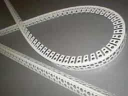 Угол арочный пластиковый и алюминиевый (1/2,5м-1/3м)
