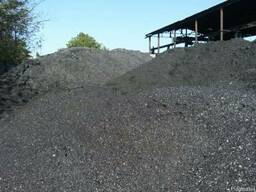 Уголь длиннопламенный ДГ 0-13