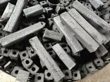 Уголь для мангала. Древесный уголь. Топливный брикет - фото 1