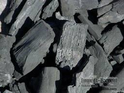 Отсев древесного угля из твердых пород дерева