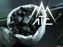 Уголь каменный сортовой (40-80 мм) фасованный