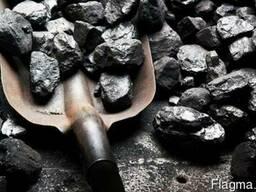 Уголь марки Дг Фракция 0-100%