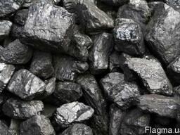 Уголь марки ДГр 0-100 , зола до 32% -1800грн\т