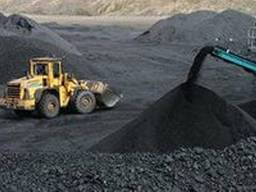 Вагонные и автомобильные (от 20 тонн)поставки каменного угля