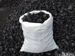Уголь в мешках Антрацит Украина фракция орешек кулак