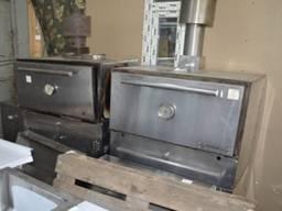 Угольная печь б/у хоспер Steel Max ЗMC-900