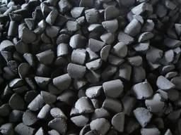 Угольный брикет, (основа Антрацит)