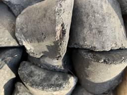 Угольный брикет, пеллеты.