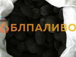 Угольные брикеты в мешках 25-50кг