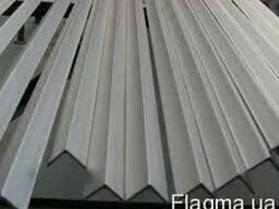 Уголок алюмінієвий. Кутник ПАС-0065 50х50х2 / б. п.