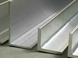 Уголок алюминиевый АМг 5,6размер 75х50х5 мм