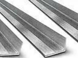Уголок нержавеющий 50х50х5 мм AISI 304, матовый нж сталь ста