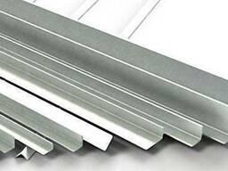 Уголок алюминиевый равносторонний и разносторонний
