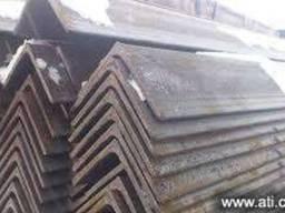 Уголок стальной - 20х20 – 200х200. ціна купити гост доставка