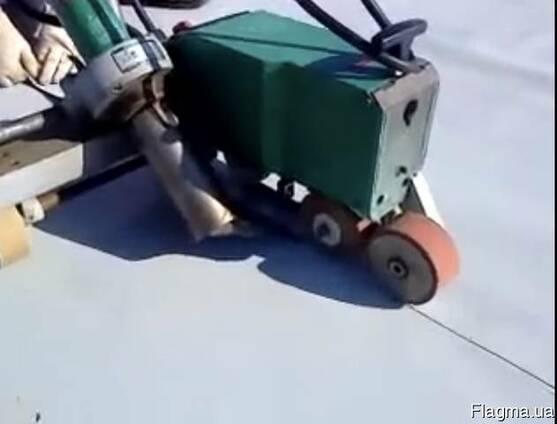 Укладка ПВХ мембраны. Монтаж и ремонт мембранных крыш.