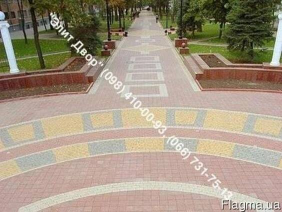 Укладка тротуарной плитки и продажа в Николаеве