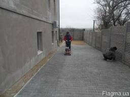 Укладка тротуарной плитки самая низкая цена в Одессе.