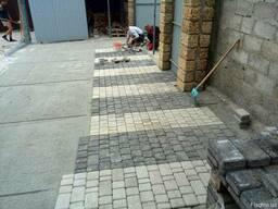 Укладка тротуарной плитки в Одессе от завода изготовителя.