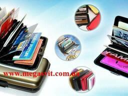 Продать. Алюминиевый кошелек для карточек Aluma card