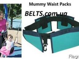 Цена. Пояс с карманами для мам Waist Diaper Bag (сумка для ма