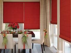 Украсьте свои окна к праздникам! Римские шторы. Буча