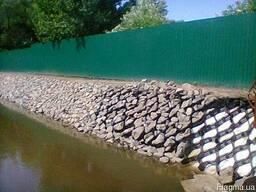 Укрепление берегов комплексное от удаления камыша до. . .