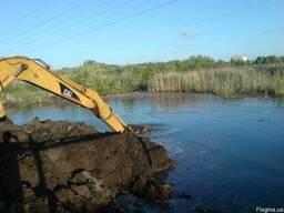 Укрепление берегов, очистка берегов от растительности