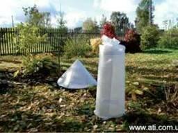 Укрывной материал, защита растений, кустарников от сильных