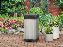 Уличный контейнер Rockford Waste Bin 125L Allibert, Keter