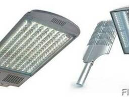 Уличные светильники: на столб, светодиодные