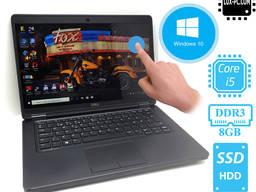 Ультрабук Сенсорный DELL E5450 i5-5300U / Full-HD IPS/ SSD