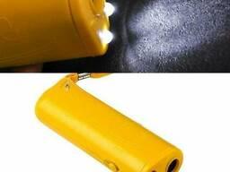 Ультразвуковой отпугиватель собак c фонариком и функцией. ..