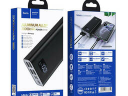 УМБ портативное зарядное Power Bank HOCO J46A 20000 mAh, 4 USB, черное