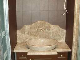 Умывальник/Раковина из натуральных камней