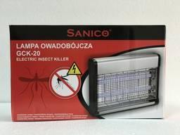 Уничтожитель летающих насекомых Sanico gsk 20W ( Польша) до