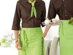 Униформа для сферы обслуживания, официантов