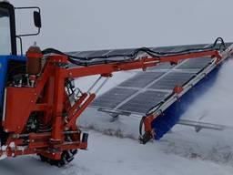 Універсальна система мийки та очищування сонячних панелей