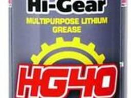 Универсальная литиевая смазка аэрозоль Hi-Gear 142 г
