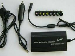 Универсальное зарядное устройство для ноутбука от 220 В или 12 В