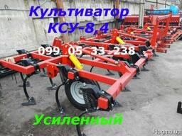 Универсальный прицепной культиватор КСУ-8, 4(кпс) с пружинной