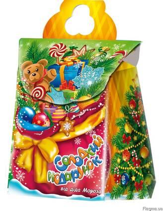 Упаковка для новогодних подарков Новогодний мешок 700г.