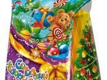 Упаковка для новогодних подарков Новогодний мешок 700г. - фото 2