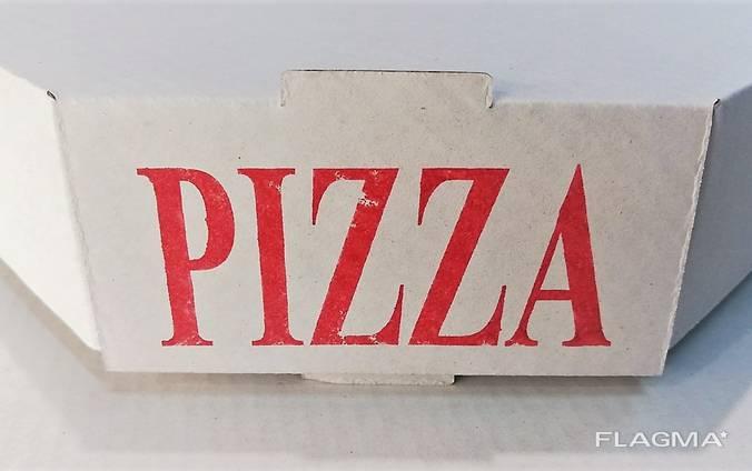 Упаковка для пиццы 40 белая