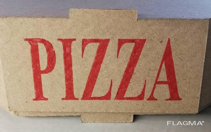 Упаковка для пиццы 25 бурая