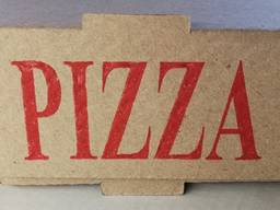 Упаковка для пиццы 35 бурая