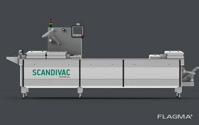 Упаковочная линия для полуфабрикатов фирмы Scandivac