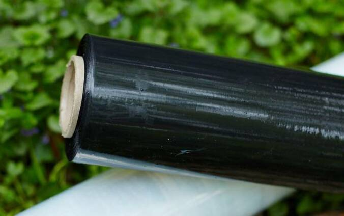 Упаковочная стретч-плёнка чёрная