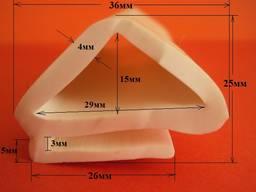 Уплотнитель морозильных камер 25х36 мм